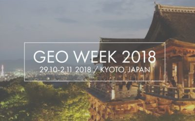 ERA-PLANET at GEO Week 2018, 29 October-2 November 2018 , Kyoto, Japan